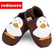 Botosei piele copii Brown Duck