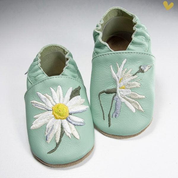 papuci piele primii pasi