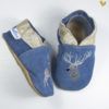 papucei piele cerb