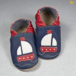 papuci piele casa copii