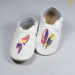 papuci piele gradinita incaltaminte pentru interior copii