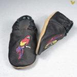 papucei piele bebe