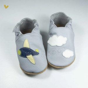 papucei piele babice