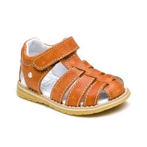 sandale piele cu talpa cauciuc moale