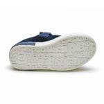 papuci piele cu talpa moale copii