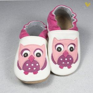 papuci piele copii
