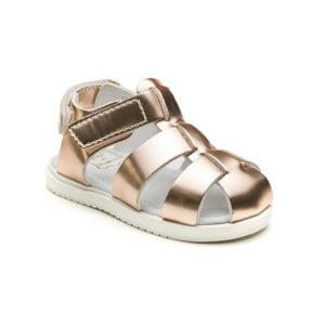 sandale usoare aurii