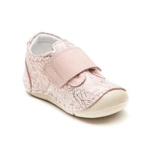papucei piele primii pasi