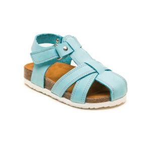 sandale pieel cu talpa pluta copii