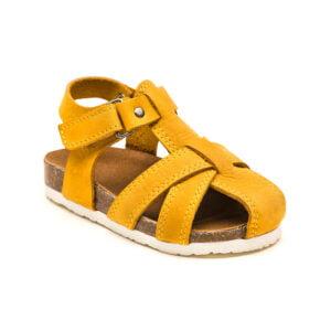 sandale copii din piele cu talpa pluta