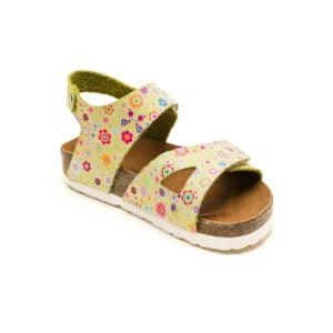 sandale piele cu talpa pluta copii