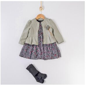 jacheta cu rochita fetite
