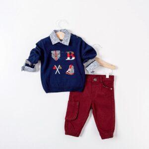 haine copii pulover camasa pantalon